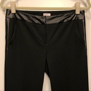 032 Laundry by Shelli Segal 4 black faux leather